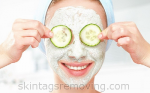 mask for acne and facial care