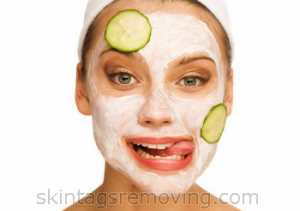 face mask for acne with bentonite clay